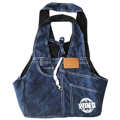 Soft Puppy Pet Dog Sling Tote Carrier Denim Sided Bag Travel Handbag