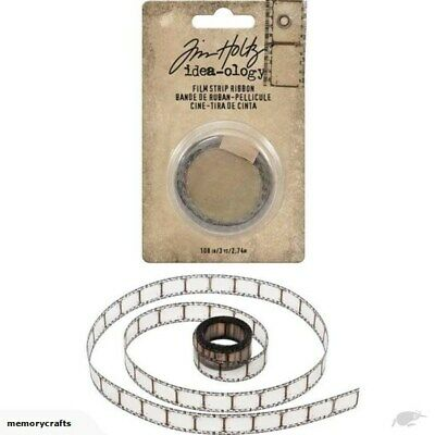 Tim Holtz Idea-ology 'FILM STRIP RIBBON' Transparent - Embellishments