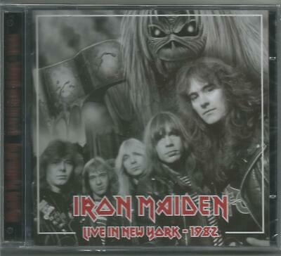 IRON MAIDEN Live In New York 1982 CD SEALED number beast tour usa