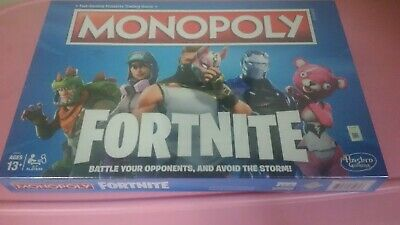 Hasbro Monopoly Board Game Fortnite Edition-New, Sealed in Factory wrapping!