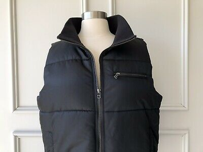 country road : satin puffer vest black size: XS.S.M.L -NEW- $179 8.10.12.14.16