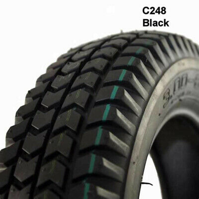 2x 3.00-8 solid Tyre black for power wheelchair