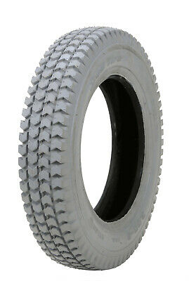 4x 3.00-8 Pneumatic Tyre grey for power wheelchair