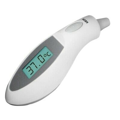 Digital Lcd Ear Thermometer Medical Baby Adult Body Safe Temperature Oral 1 H3C3
