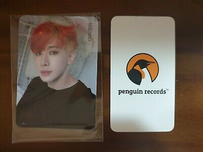 MONSTA X - 2nd ALBUM TAKE.1 ARE YOU THERE? VER.2 WONHO PHOTO CARD