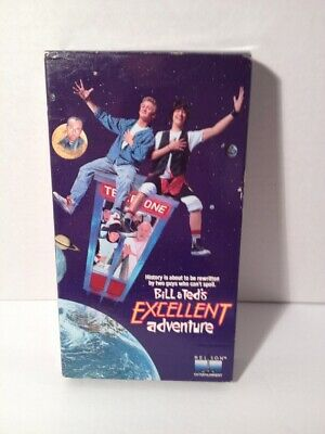 Bill And Teds Excellent Adventure Vhs 1989