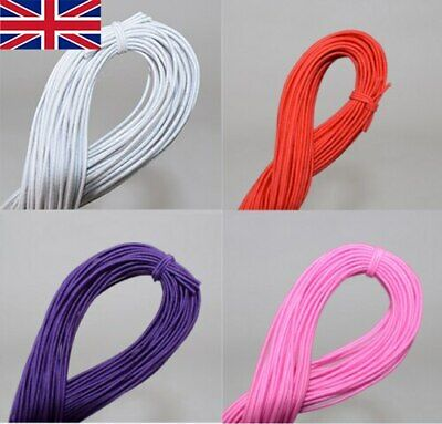 25M Strong Stretch Elastic Cord Wire rope Bracelet Necklace String Bead DIY UK
