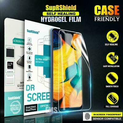 Samsung Galaxy A20 A30 A50 A70 SupRShield HYDROGE Full Cover Screen Protector