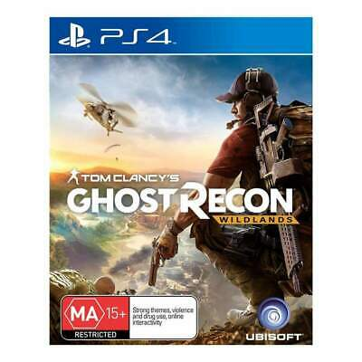 PS4 Tom Clancy's Ghost Recon: Wildlands - New & Sealed (Australian PAL)