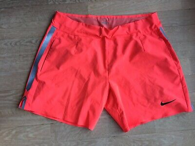 Short tennis homme NIKE Taille Large corail