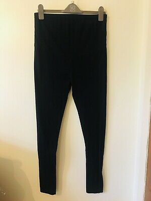 Black Maternity Leggings Bundle - sizes 10 and 12. 3 Pairs All Great condition