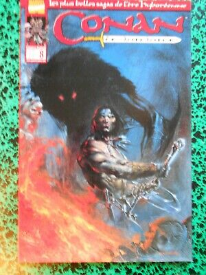 Conan le Barbare 8 cover  Dell'Otto Barry Smith Les clous rouges panini