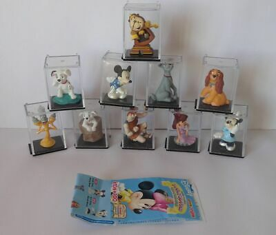 Komplettset Disney CAPSULE WORLD, Part 5 + BPZ , Tomy, Yujin, RAR