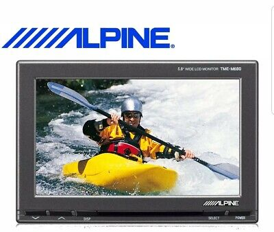 """Alpine 5.8"""" Monitor Add-on Display without Black-Box for Dual Monitor Upgrade"""