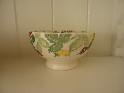Emma Bridgewater French Bowl wild strawberries first and discontinued, perfect