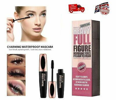 4D Silk Mascara Eyelash Extension Volume Long Lasting Lashes UK