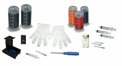 Refill Kit Combo Pack for HP 63 63XL Envy 4520 4512 4516 Officejet 5255 5258