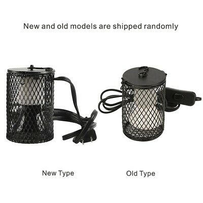 Reptile Ceramic Heat Lamp Holder Light Switch Cage for Chicken Brooder