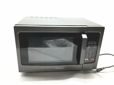 Toshiba Em925a5a Bs Microwave Oven With Sound On Off Eco Mode And Led Lighting
