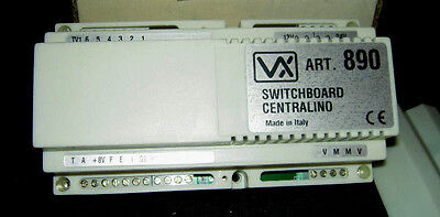 Videx Intercom Switchboard Centralino Control Unit ART. 890