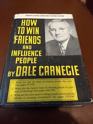 How to Win Friends and Influence People Dale Carnegie 111th Printing HC/DJ