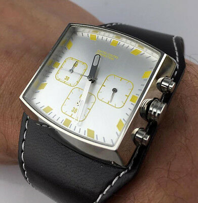Watch Benetton Watch Chrono Space Age Real Vintage Skin New Old Stock,