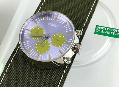 Watch Benetton Watch Chrono Space Age Real Vintage Skin New Old Stock
