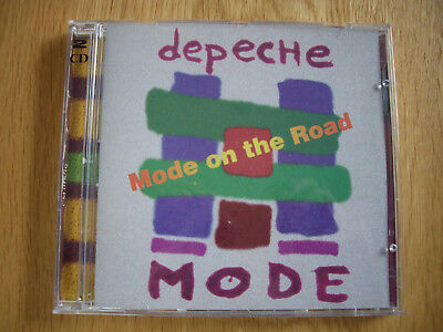 Depeche Mode Mode On The Road - 1993 - Very Rare 2 Cd