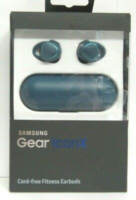 Samsung Gear IconX In-Ear Only Wireless Headphones (2016 Version) - Blue