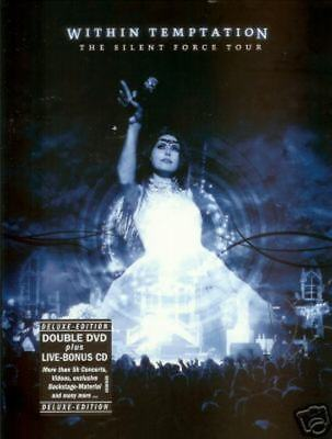 WITHIN TEMPTATION-The Silent Force  Deluxe  2 DVD+CD
