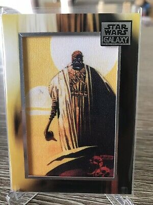 Topps Star Wars Galaxy 2018 Commemorative Patch Card M-TR