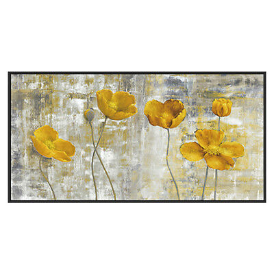 HH357# Large Modern Abstract oil painting 100% Hand-painted Flower Art Canvas