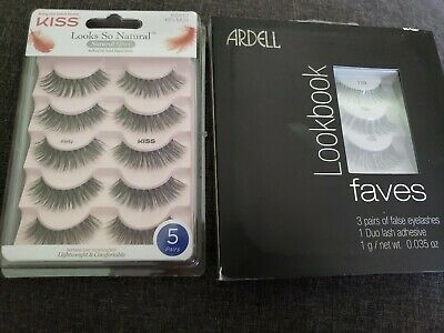 79bc2279798 Kiss Looks So Natural Lashes, Flirty And ARDELL Lookbook Faves false  eyelashes