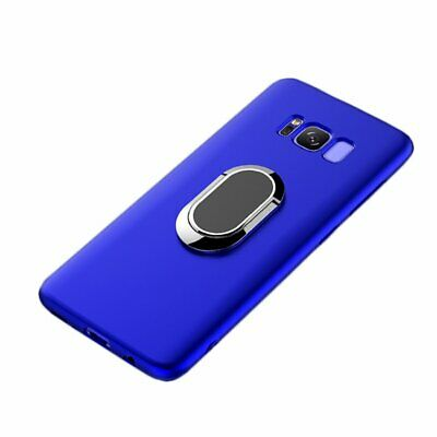 Galaxy S8 Plus Case WATACHE Built-in Magnetic Iron 360 Degree Rotating Ring H...