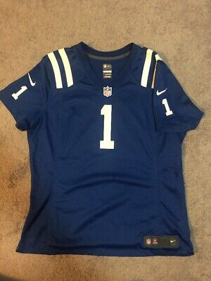 big sale 71a78 71961 NIKE JERSEY PAT Mcafee #1 Indianapolis Colts Nfl Players ...