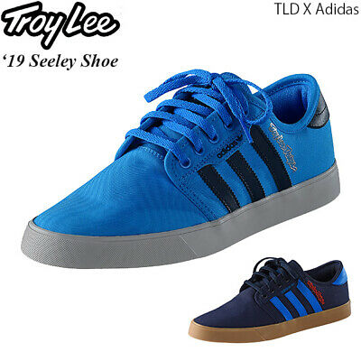 TLD Troy Lee Designs Adidas Seeley Shoes Cyan/Navy