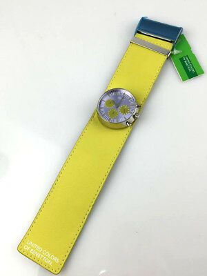Watch Benetton Watch Chrono Space Age Real Vintage Skin New, Old