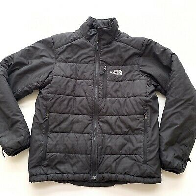 The North Face Linear Puffer Jacket Mens Size Medium Black