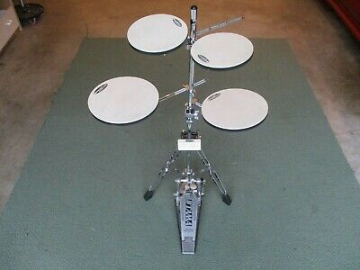 DW Smart Practice 5-Piece Drum Practice Pad Set W/Stand, Fully Adjustable - Mint