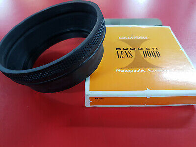 Collapsible Rubber Lens Hood 77mm