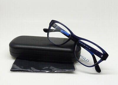 Polo Lenses Ralph Lauren 2148 5576 Blue Demo Eyeglass Eyewear D2 Transparent 2DIH9E