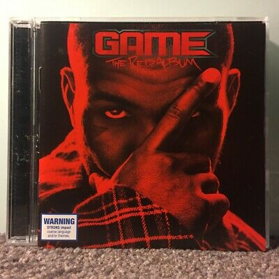 GAME - The red album ft Dr Dre, Snoop Dogg, Big Boi, Tyler Creator] CD