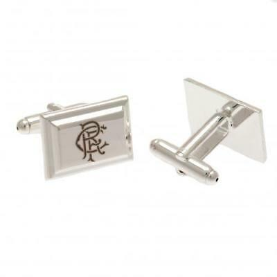 Glasgow Rangers FC Official Silver Plated Cufflinks in Gift Box