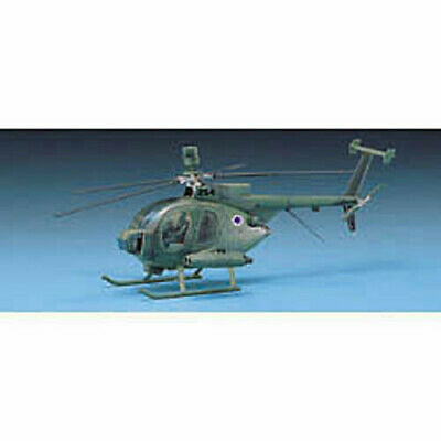 ACADEMY #12249 1//48 Plastic Model Kit US Ed Hughes 500D Police Helicopter