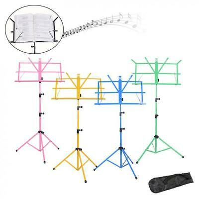 Adjustable Orchestral Conductor Sheet Music Tripod Stand Foldable Lightweight
