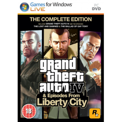 Grand Theft Auto IV 4 Complete Edition  *Steam Digital Key PC* ☁Fast Delivery☁