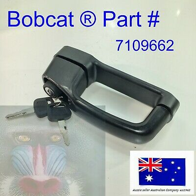 BOBCAT Front Door Latch Handle Key Lock 7109662