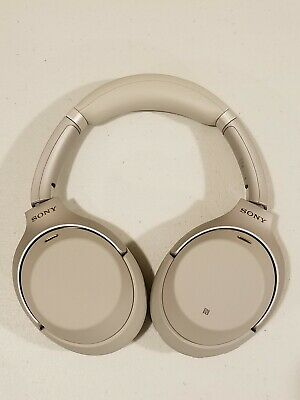Sony WH-1000XM3/B Bluetooth Wireless Noise Canceling Stereo Headphones - Silver