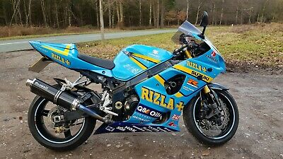 Suzuki Gsxr 1000 Rizla K4 Crescent Suzuki Dream Machine Paint & Rizzla Graphics