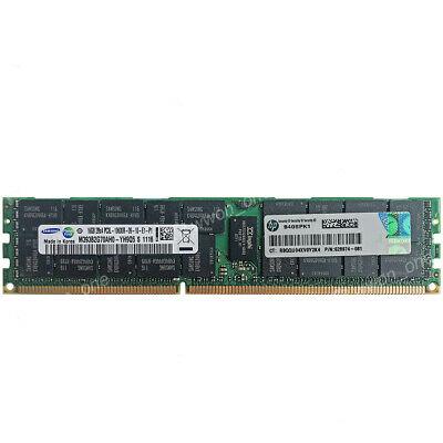 16GBX1 DDR3 1333MHz PC3-10600 RDIMM Memory for Dell PoweEdge R710 A5180170 16GB